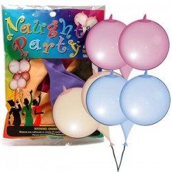 PALLONCINI SENO MULTICOLOR NAUGHT PARTY